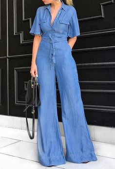 Shop sexy club dresses, jeans, shoes, bodysuits, skirts and more. Denim Fashion, Look Fashion, Chic Outfits, Fashion Outfits, African Fashion Dresses, Denim Outfit, Dress To Impress, Casual Looks, Casual Dresses