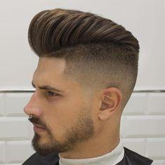 High Fade Pompadour - Men Hairstyles 2016
