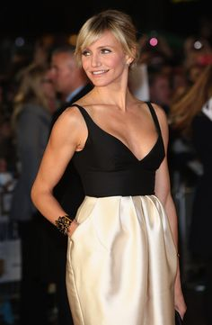 Cameron Diaz looking amazing at the London Gambit Premiere!