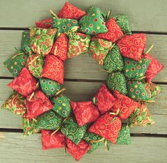 Old Time Christmas Wreath