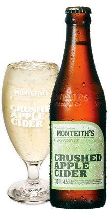 Monteith's Cider....mmmmmmmmmmmmmmmm