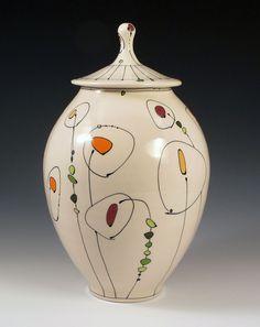 Emily Free Wilson click the image or link for more info. Ceramic Pots, Glass Ceramic, Ceramic Clay, Ceramic Painting, Ceramic Pottery, Pottery Art, Porcelain Ceramics, Pottery Painting Designs, Pottery Designs