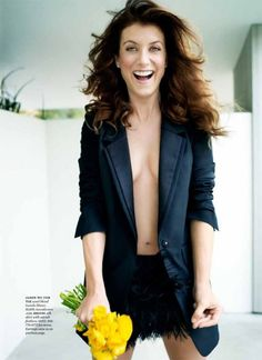 Kate Walsh, gotta have her hair Addison Montgomery, Grey's Anatomy, I Love Girls, Pin Up Girls, Pretty People, Beautiful People, Beautiful Redhead, Kate Walsh, Not Having Kids
