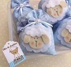 Resultado de imagem para lembrancinhas de bebe ovelhinha