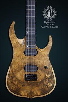 Overload Custom Guitars RAIJIN 6 - MYRTLE TOP