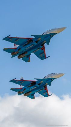 """Russian Air Force """"Russian Knights"""" Sukhoi """"Flanker-C"""" // Military Aviation // Aircraft Parts, Fighter Aircraft, Military Jets, Military Weapons, Air Fighter, Fighter Jets, Tomcat F14, Russian Military Aircraft, Russian Plane"""