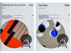 Swiss modern graphic design for the chemical industry by Grain Edit.com, via Flickr