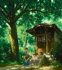 Find images and videos about anime, studio ghibli and Hayao Miyazaki on We Heart It - the app to get lost in what you love. Totoro, Studio Ghibli Background, Animation Background, Studio Ghibli Art, Studio Ghibli Movies, Hayao Miyazaki, Ghibli Backgrounds, Twitter Backgrounds, Comics Illustration