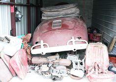 eBay story - Barn Find 1959 Porsche 356 Speedster