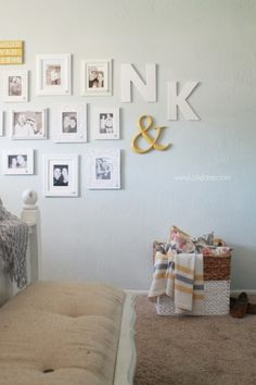 Yearly Couple Gallery Wall » Lolly Jane