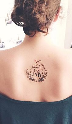 Cute doe Patronus tattoo