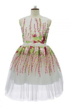 57985f22937f6f Luxury Ivory Party Dream Dress. Girls Designer DressesSpring ...