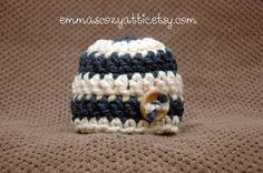 Newborn baby boy hat baby boy photo prop blue by emmascozyattic, $22.00