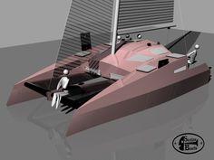 Sailing Catamaran, Tiny Camper, Boat Design, Time Shop, Boat Building, Sailboat, Construction, Architecture, Epoxy