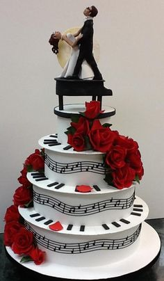 1000 Ideas About Music Wedding Cakes On Pinterest