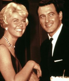 """""""If there is a Heaven I`m sure Rock Hudson is there because he was such a kind person."""" Doris Day"""