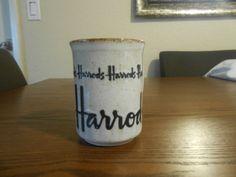 Vintage Harrods Way in Living England Mug Doonan Stoneware Made in Scotland   eBay
