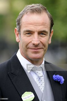Robson Green attends day two of Royal Ascot at Ascot Racecourse on June 20, 2012 in Ascot, England.