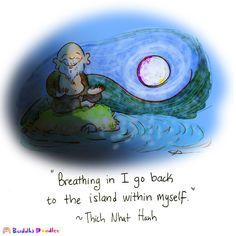 Buddha Doodle - 'Island'