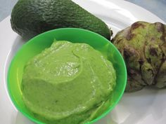 Not just for baby, yum.  Raw, Live Baby Food Recipe – Custard apple, avocado & baby spinach mousse