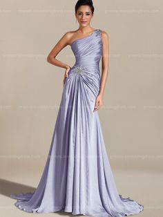 One-Shoulder Modern Mother of the Bride Dress Young Mother Of The Bride, Mother Of The Bride Dresses Long, Mothers Dresses, Wedding Attire, Wedding Dresses, Mob Dresses, Dresses Online, Bride Gowns, Beautiful Gowns