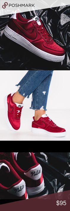 effa0ab492 The Nike Air Force 1 '07 Red Crush The Nike Air Force 1 '07 · Nike Air  ForceNike Cipők