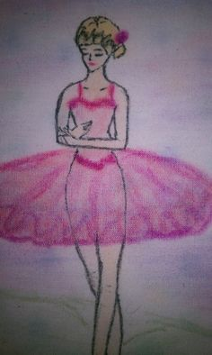 Ballerina Wall Art or Quilt Square by slechleiter on Etsy, $35.00