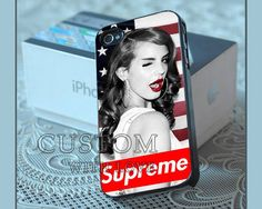 Lana Del Rey Supreme American Flag  Rubber or by CustomWithLove, $13.99