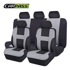 9PC Quilted Polyester Car Seat Covers Set For Volkswagen Tiguan 2008-2016