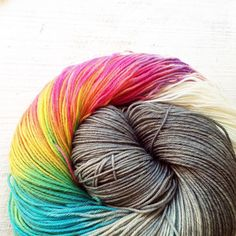 One of my all time favourites 'Something for Everyone' - lots of this available for @swisswullefestival  tomorrow - do the Swiss Yarnies like colour? I'll tell you tomorrow!