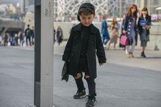The Toddlers Dominating Seoul Fashion Week Street Style - Seoul Fashion Week-Wmag