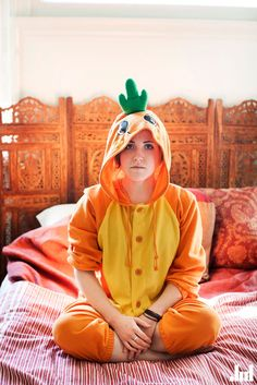 CARROT ONESIE<3 http://www.youtube.com/user/MyHarto?feature=chclk