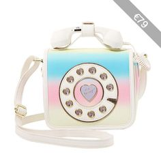Betsey Johnson Kitsch Must Have Mini Phone Crossbody