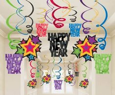 Colorful-Happy-New-Years-Decorating-Ideas-615x510 Awesome & Breathtaking Ideas for New Year's Holiday Decorations