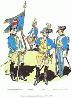 AWI- Hessian: Brunswick Regiment of Dragoons, by F.Chapman & J.Elting (Company of Military Historians).