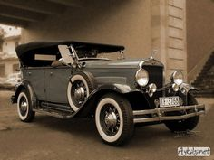 Eski model araba fotoğrafları - eski arabalar 15