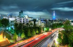 One evening I was walking around Roppongi, taking in all the sights. There doesn't seem to be a bad direction to go. Everything was alive and full of life. - Tokyo, Japan - Photo from #treyratcliff Trey Ratcliff at http://www.stuckincustoms.com/