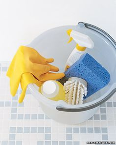 CHECKLISTS! A complete guide to cleaning your home... everything from simple daily tasks to deep spring cleaning.