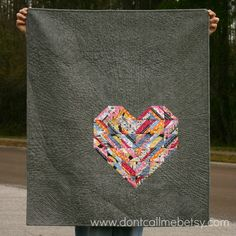 The Road to Love - my Madrona Road challenge quilt by Don't Call Me Betsy Scrappy Quilts, Easy Quilts, Small Quilts, Mini Quilts, Heart Quilt Pattern, Quilt Patterns, Block Patterns, Quilting Projects, Quilting Designs
