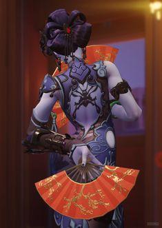 Overwatch - Chinese Year widomaker