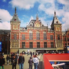 Station Amsterdam Centraal in Amsterdam, Noord-Holland - I went to amsterdam many times to get high