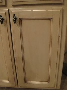How to glaze kitchen cabinets by lorid54