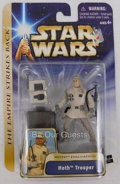 Star Wars The Empire Strikes Back Hoth Trooper Hoth Evacuation #01 New #Hasbro
