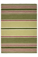 Bright Multi Stripe Rug