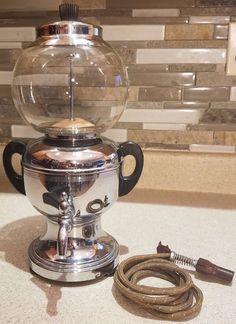 ULTRA RARE VTG 1930s FARBER COFFEE ROBOT MODEL 530 AUTOMATIC VACUUM COFFEE MAKER