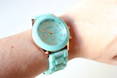 Ecléctica - Complementos de moda para estar a la última: Reloj Menta. Ref: RLJ-005