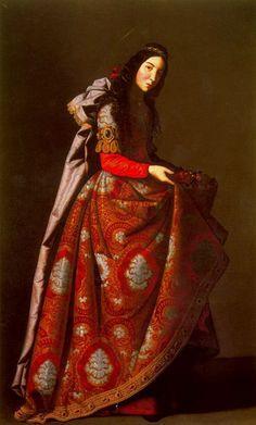 Francisco de Zurbaran, Saint Casilda, c. 1630-1645