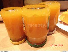 Dýňová marmeláda recept - TopRecepty.cz Beer, Mugs, Glasses, Tableware, Root Beer, Eyewear, Ale, Eyeglasses, Dinnerware