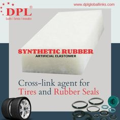 As a cross-link agent for tires and rubber seals, this artificial elastomer provides your products a good heat resistance with a long-term usage. It is highly elastic in nature due to its molecular structure, while adding a better friction bearing capacity. #DPL #DPLGlobalLinks #SyntheticRubber #ArtificialElastomer #ChemicalIndustry #Polymers #Chemicals #Pigments #Elastomers Cross Link, Chemical Industry, Synthetic Rubber, Polymers, Seals, Nature, Products, Naturaleza