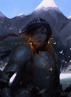 Knight by GUWEIZ.deviantart.com on @DeviantArt